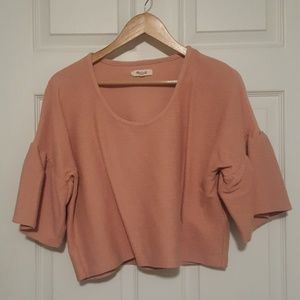 Madewell Rose Crop Top